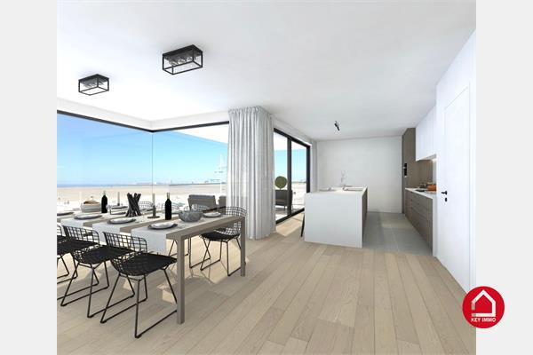 The penthouse aan zee