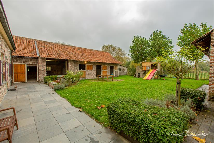 Enchanting, cozy farm with stables on 7,830m2 in Wieze