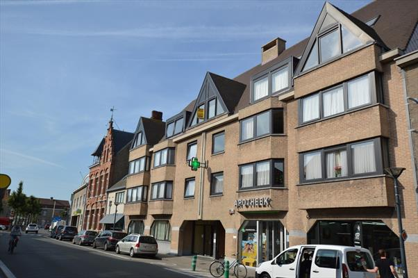 Duplexappartement te huur in centrum Oudenburg