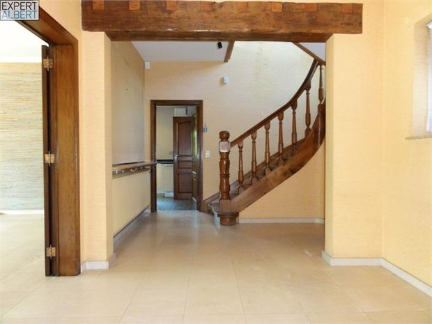 entrance, hall & central staircase