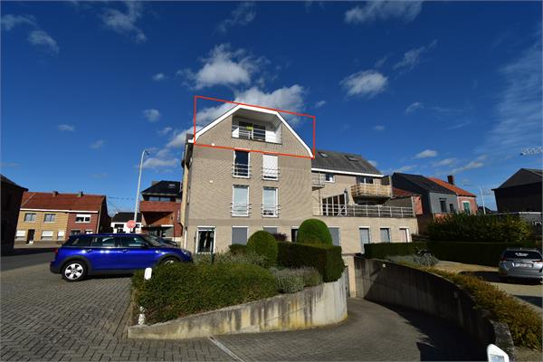 ** IN OPTIE ** LUBBEEK duplex appartement 2 slk + garage