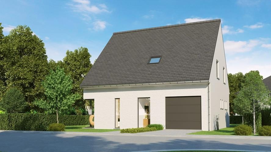 Lot 1 - perceel 413m2