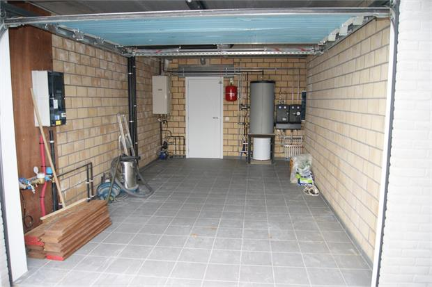 Garage met sectionaalpoort